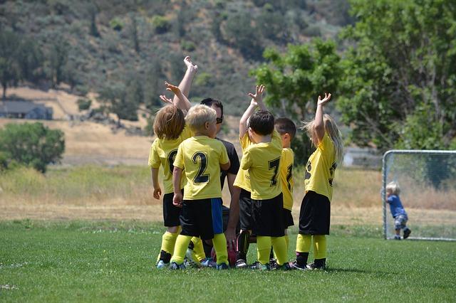 dětský sportovní tým