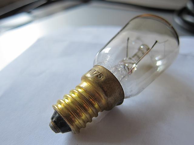 stará žárovka