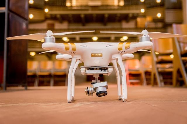 drone-helikoptéra