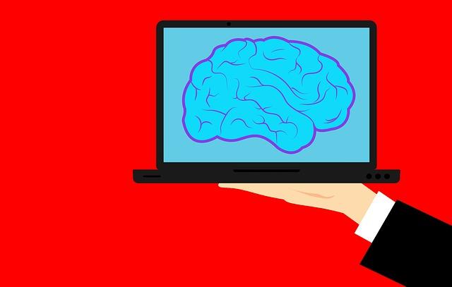 mozek na počítači