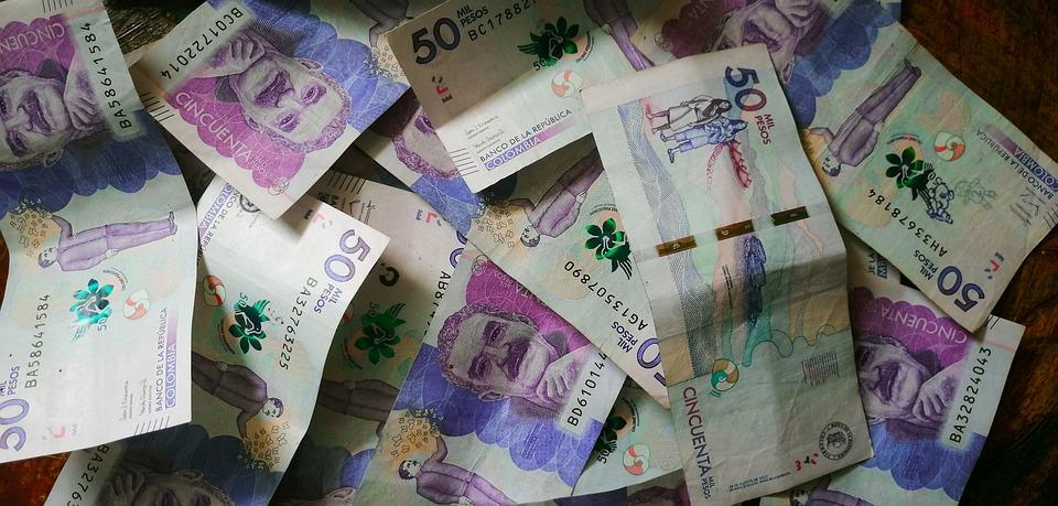 kolumbijské pesos